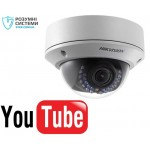 YouTube IP відеокамера Hikvision DS-2CD2720F-IS YouTube