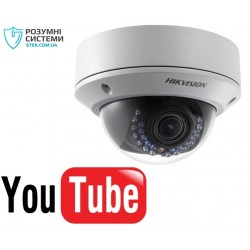 YouTube IP відеокамера Hikvision DS-2CD2720F-IS (2.8-12)