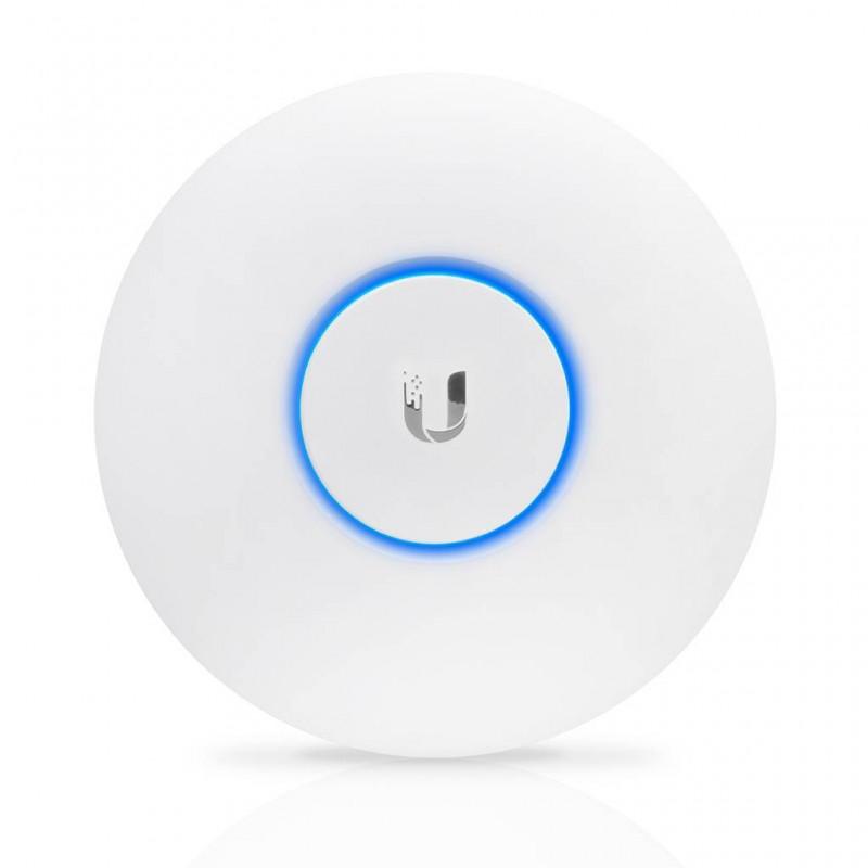 Точка доступа Ubiquiti  UAP-AC-PRO UniFi AP AC Pro 802.11ac 1750Mbps 2.4 и 5GHz 30dBM 2x1000Mbps LAN Weatherproof (indoor/outdoor) 196.7x35 mm